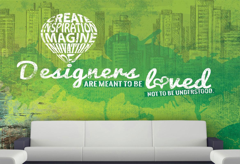 Imagine That Design and Print Wallpaper Design